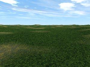 plains landscape scenes 3d model