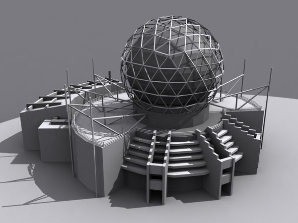 3d model - science world vancouver