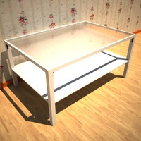 3d model sofa table