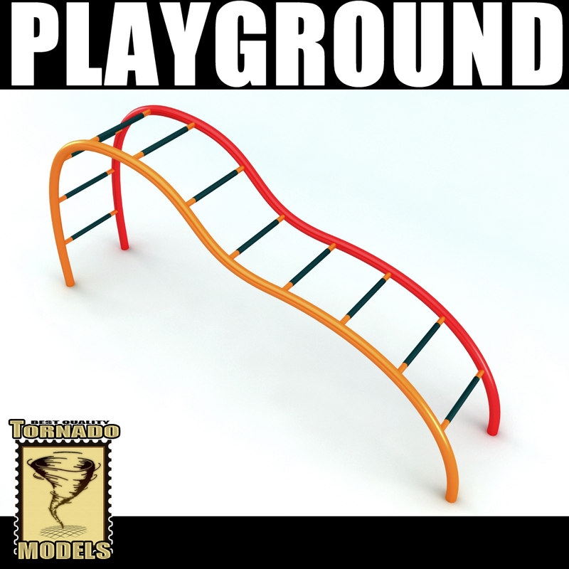 playground element 3d model