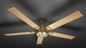 ceiling fan obj