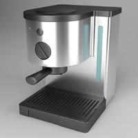 3ds max coffeemaker coffe maker