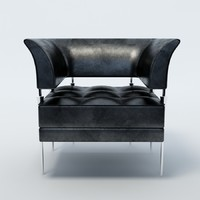 poltrona frau chair 3d max
