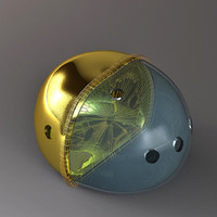 imaginary globe 3d model