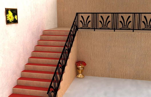 interior stairs 3d model