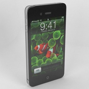 iphone 4g apple 3d model