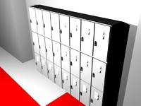 3d lockers