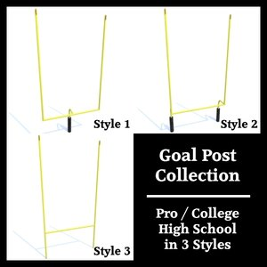 3ds max goal post