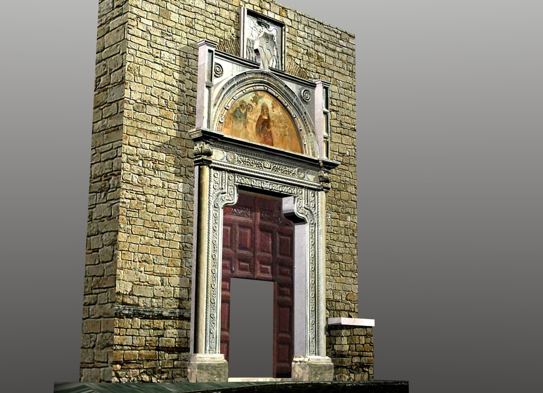 blender portal farfa abbey