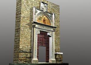 blender portal farfa abbey