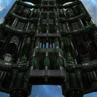 games sci-fi space level 3d model