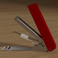 3d stapler staples