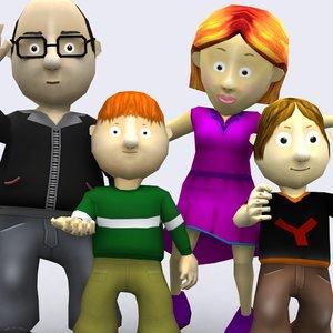 family 0 3d model