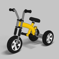 3ds max tricycle toon