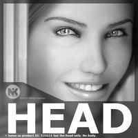 realistic female head v3 max