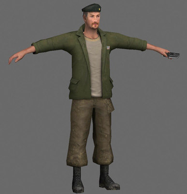 3ds max human