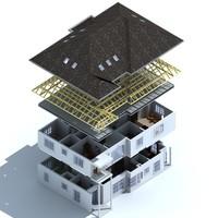 3D House 001