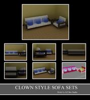 3d sofa sets model