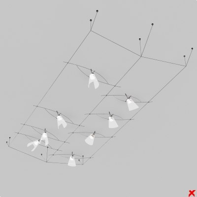 lamp structure 3d max