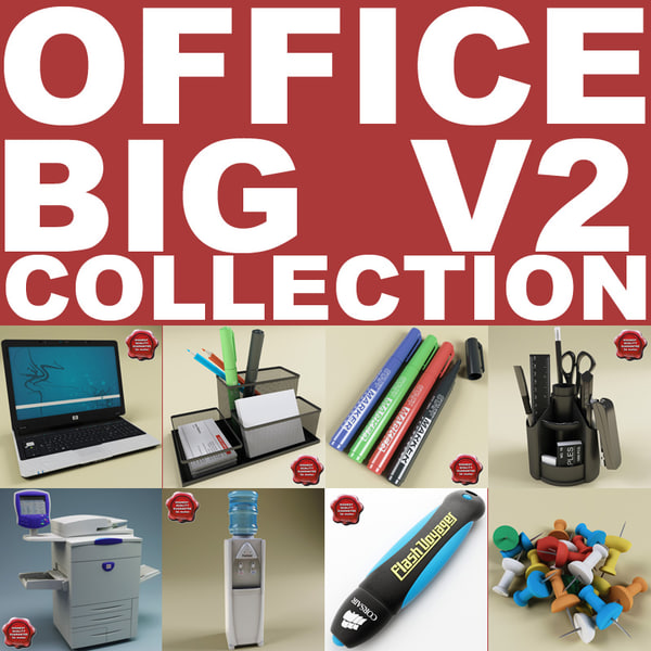 office big v2 obj
