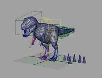free dinosaur 3d model