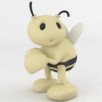 free bumble bee 3d model