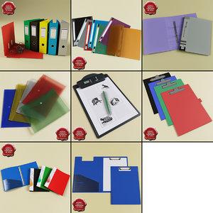 3d model stationery v2