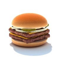 double stack 3d model