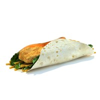 homestyle chicken gowrap 3d model