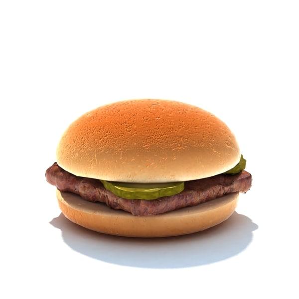 3d junior burger