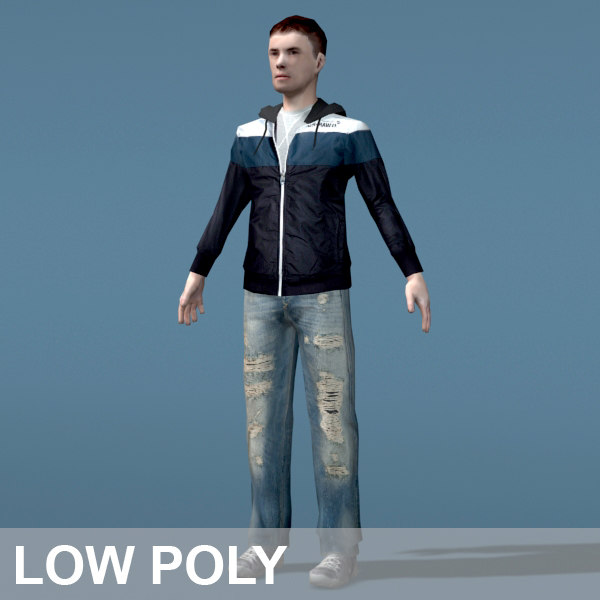 3ds max boy character