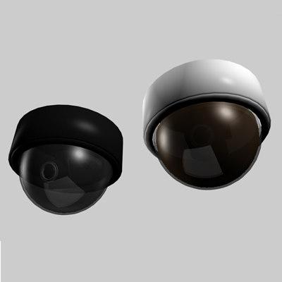 dome surveillance camera 3ds