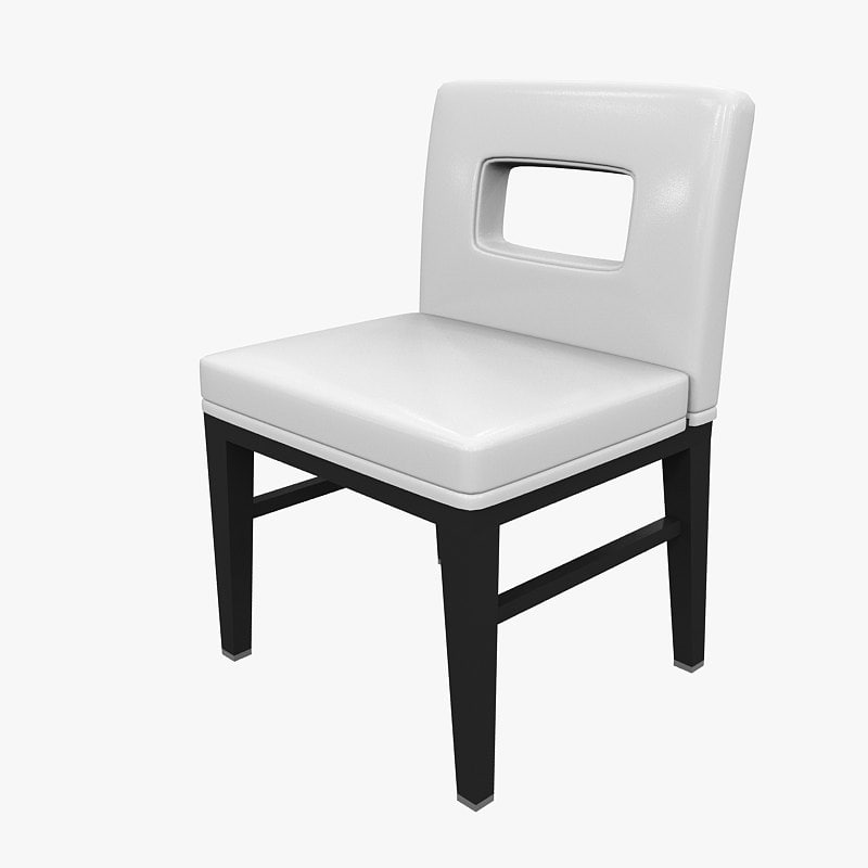 chair dining outdoor 3d model