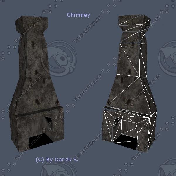 chimney includes ugh 3ds