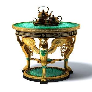 baldi bronzi di 3d model