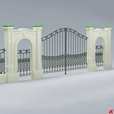 3d gate entry model