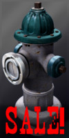 3d model of hydrant