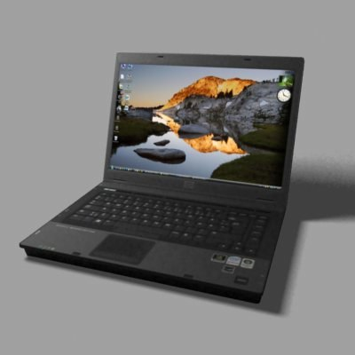 laptop - 3d model