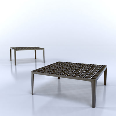 tom dixon link table 3d model