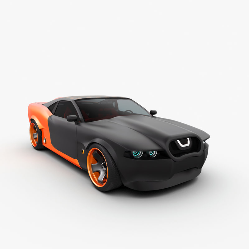 2 concept car maibatsu 3d 3ds