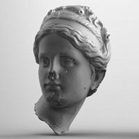Statue Head 02