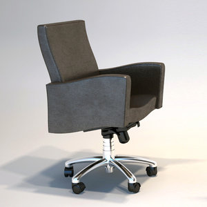 3d max armchairs chair office onda