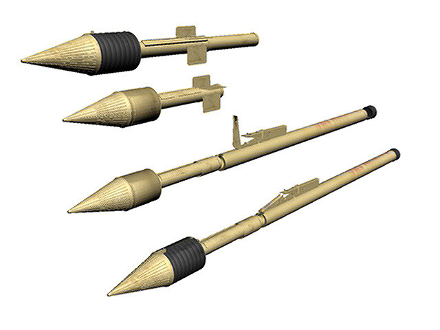 3d model wwii german panzerfaust 150