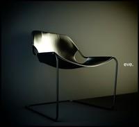 paulistiano armchair 3d model
