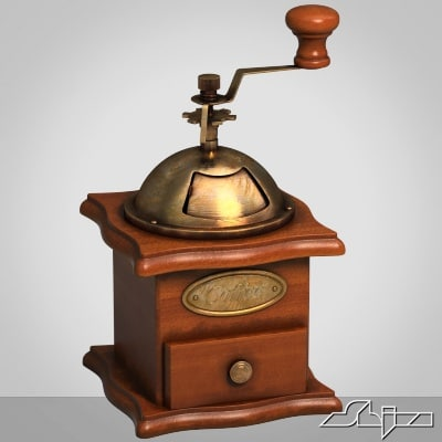 coffee grinder coffe 3d model