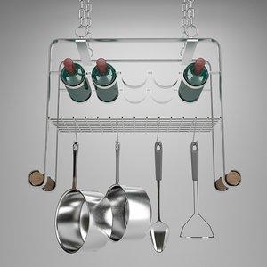 3d model cookware cook