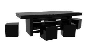 3d model boardroom table