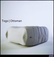 togo ottoman 3d model