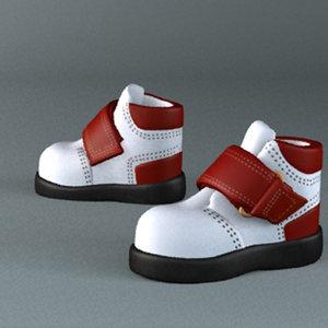 kids shoes 3d model