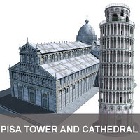 Tower and Cathedral Pisa
